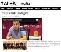'Fabricatik' lantegira (Arabako Alea, 2015/09/23)
