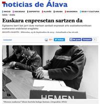Euskara enpresetan sartzen da (Noticias de Álava, 2015/09/23)