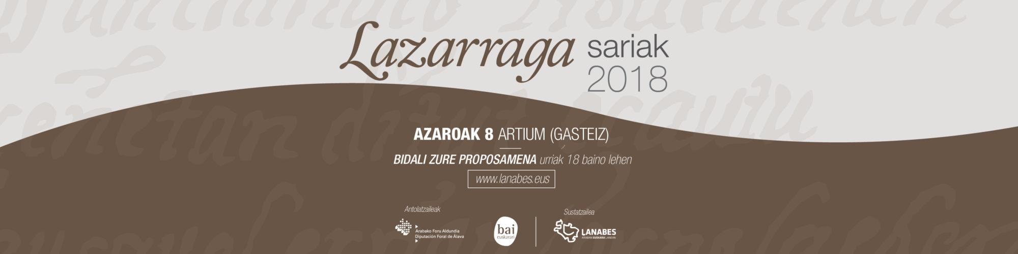 lazarraga-sariak-2018